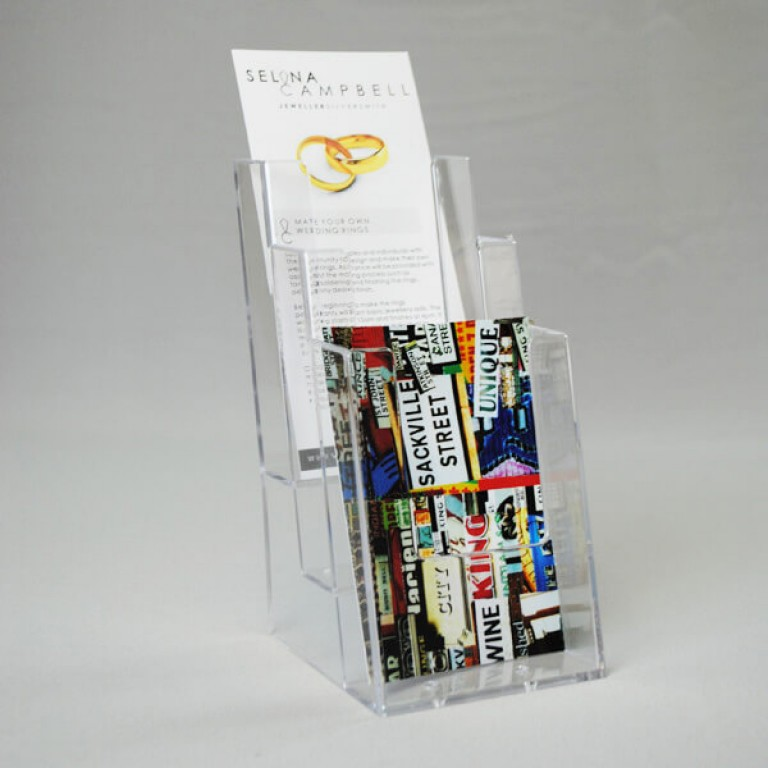1/3 A4 (A6) Three-Tier Leaflet Dispenser