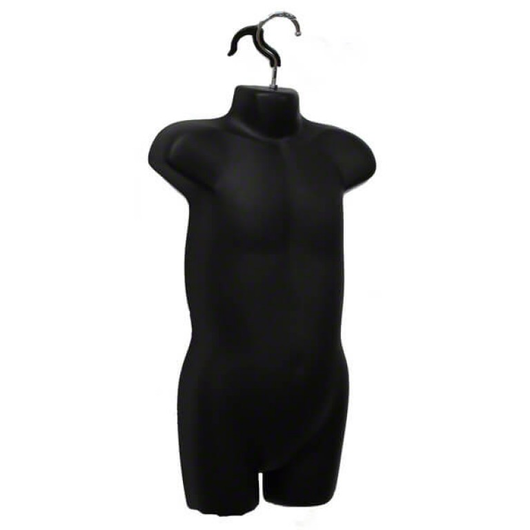 Child Hanging Body Form (Black)