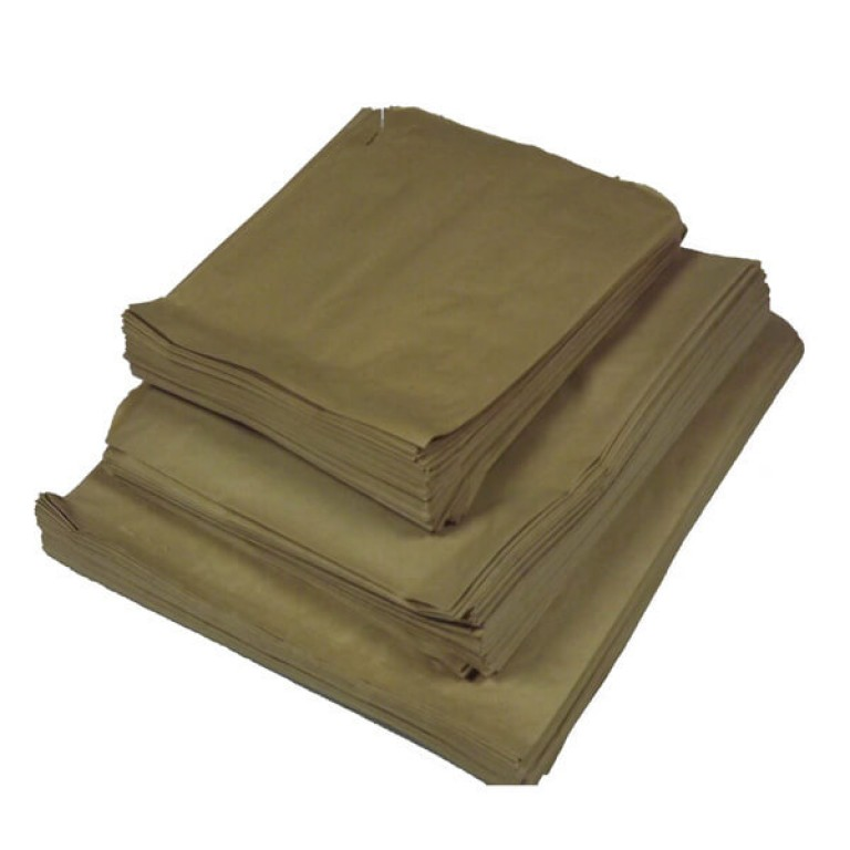 Brown Paper Bags (175mm x 175mm)