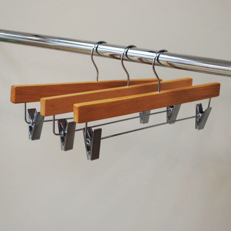 Wooden Clip Hangers