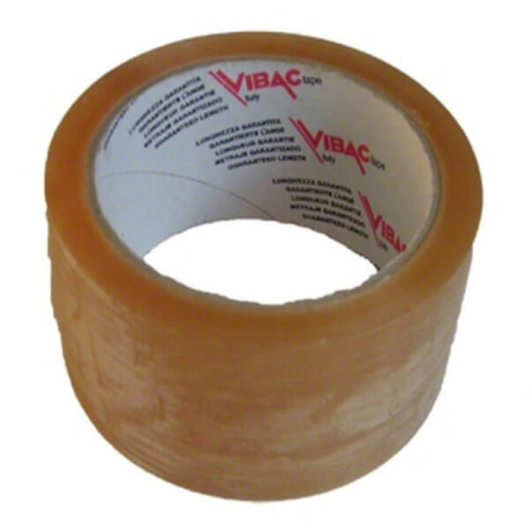 Clear Self-adhesive Packing Tape (50mm) - 6 pack
