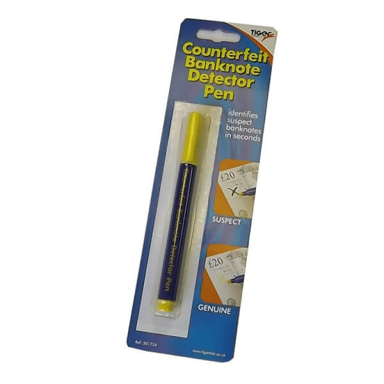 Counterfeit Banknote Detector Pen