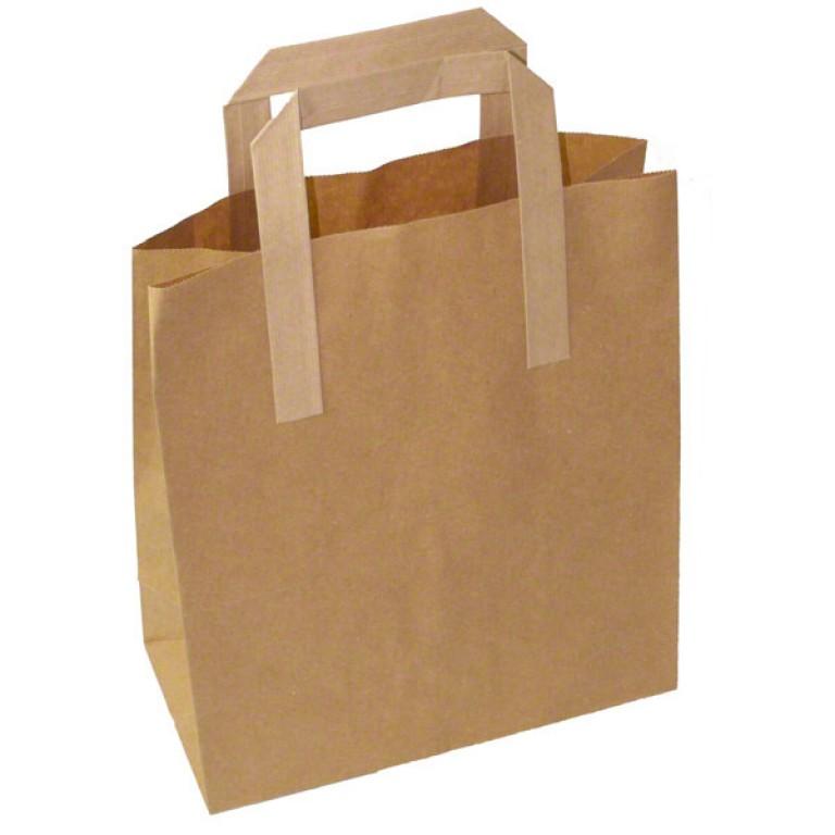 Medium Carrier Bag (brown)