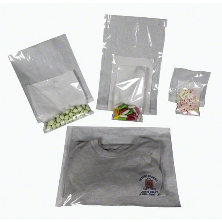 Film Fronted Bags (215mm x 215mm)