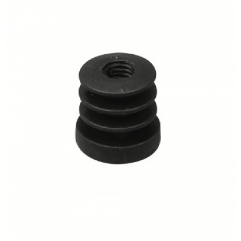 Bronx 28 Round Finned Threaded Foot