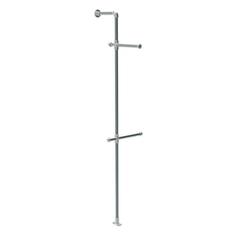 Bronx Wall Mounted Single Pole Display Unit