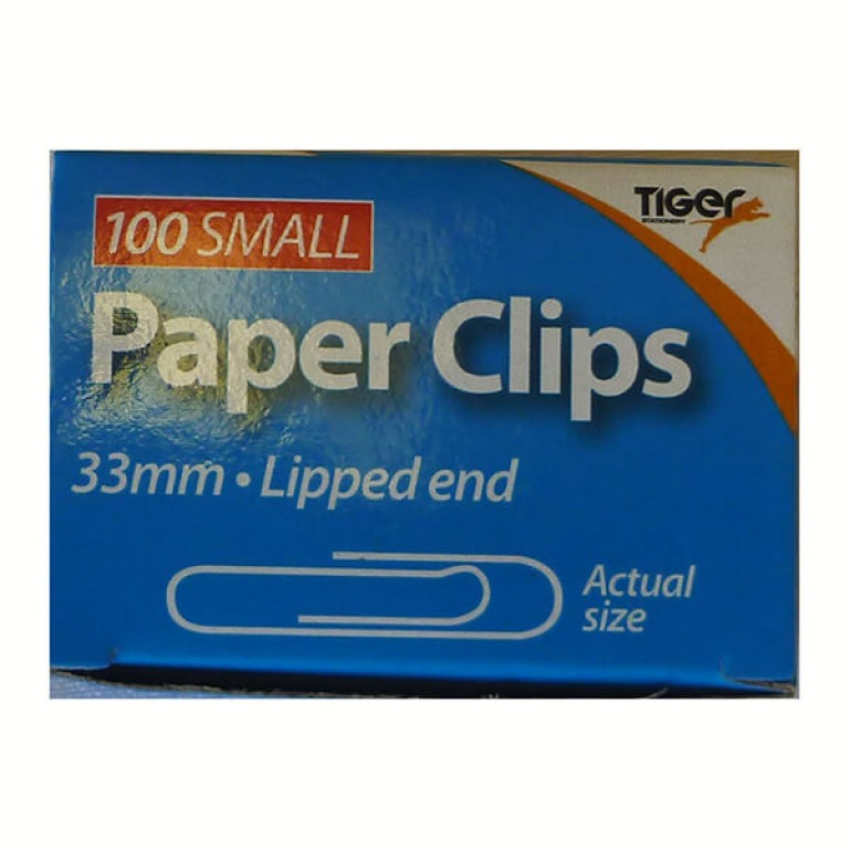 Paper Clips 33mm - 100