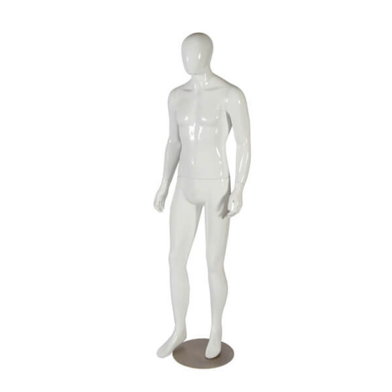 High Gloss Male Mannequin 'Zak'