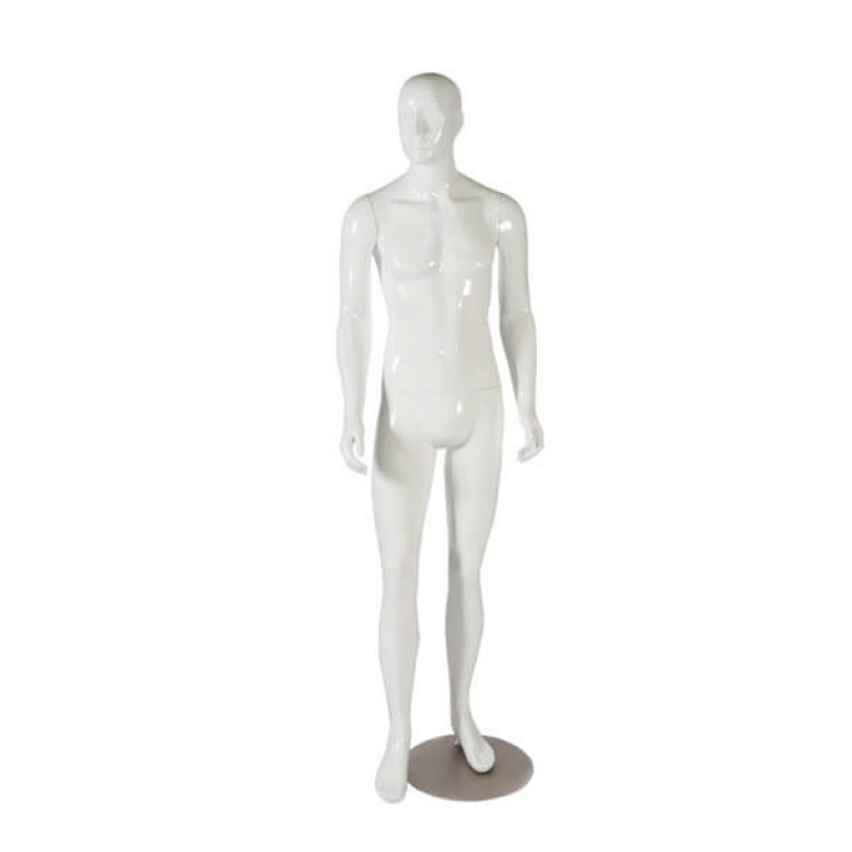 High Gloss Male Mannequin 'Kirk'