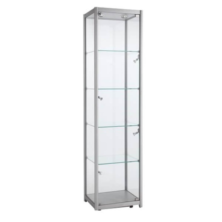Four Tier Single Width Tower Show Case - XLarge