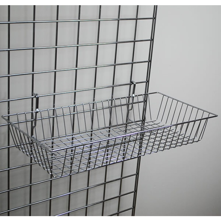 Large Grid Basket - Shallow