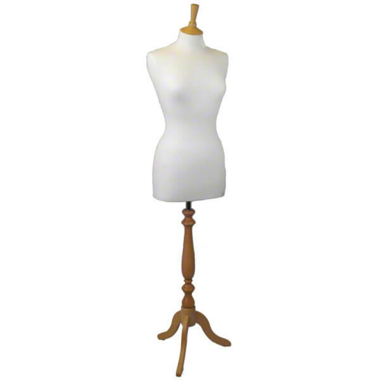 Special Offer: Female Tailors' Dummy (natural fabric / ash tripod)