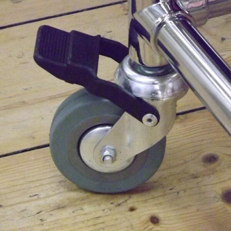Wheel/castor with brake
