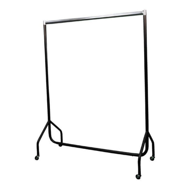 Superior Clothes Rails (black / chrome)