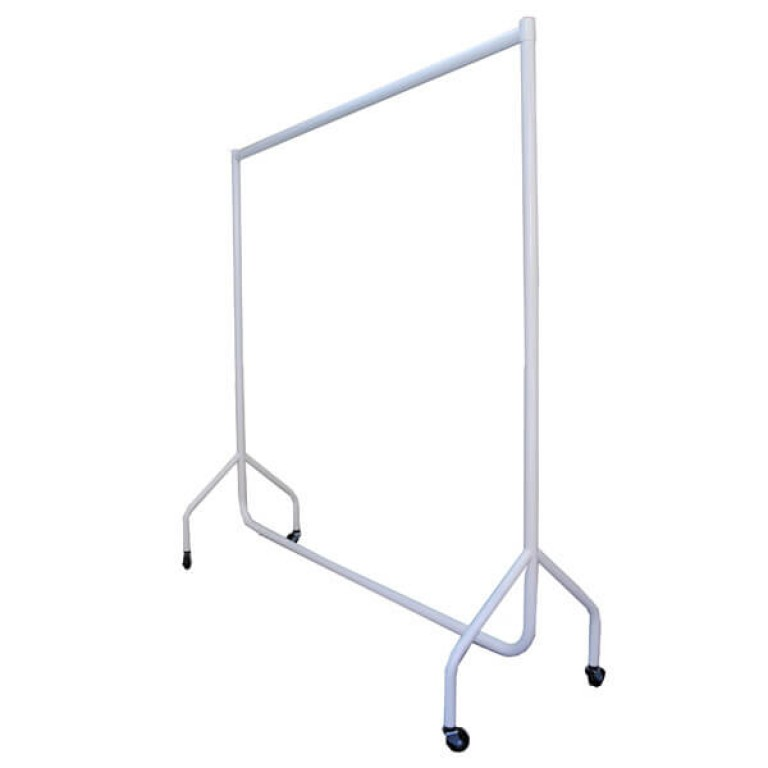 White Clothes Rails (superior quality)