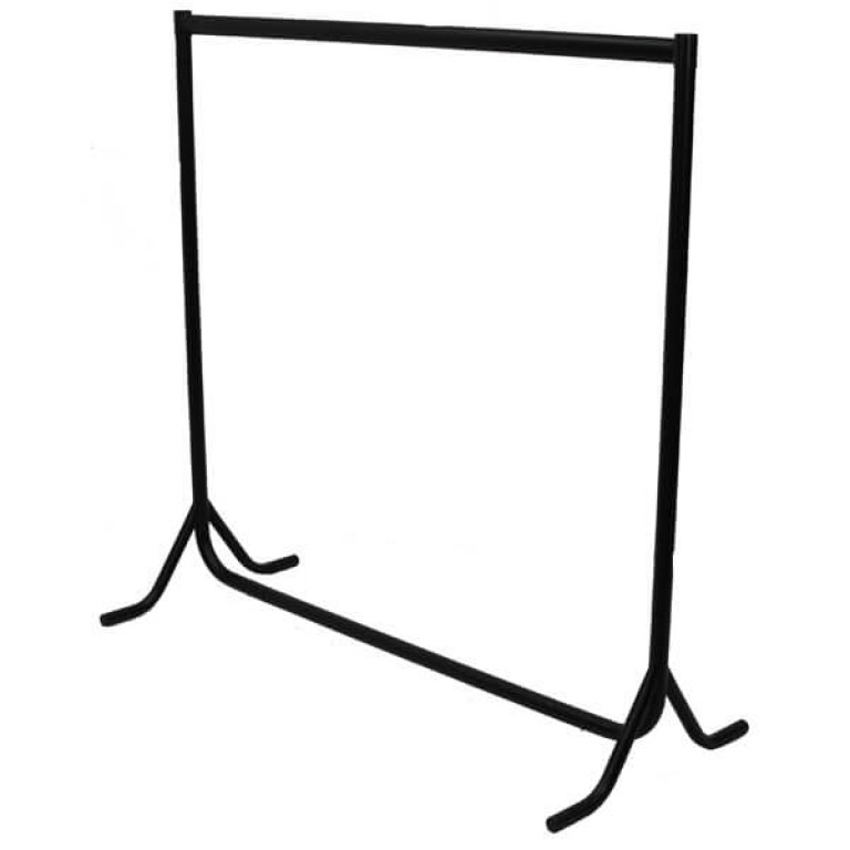 Fishtail Rails - 4ft high (black)