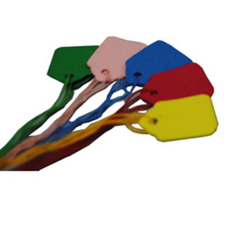 Medium Coloured Strung Tallies