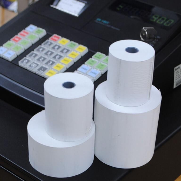 Thermal till rolls / PDQ rolls (57mm x 46mm)