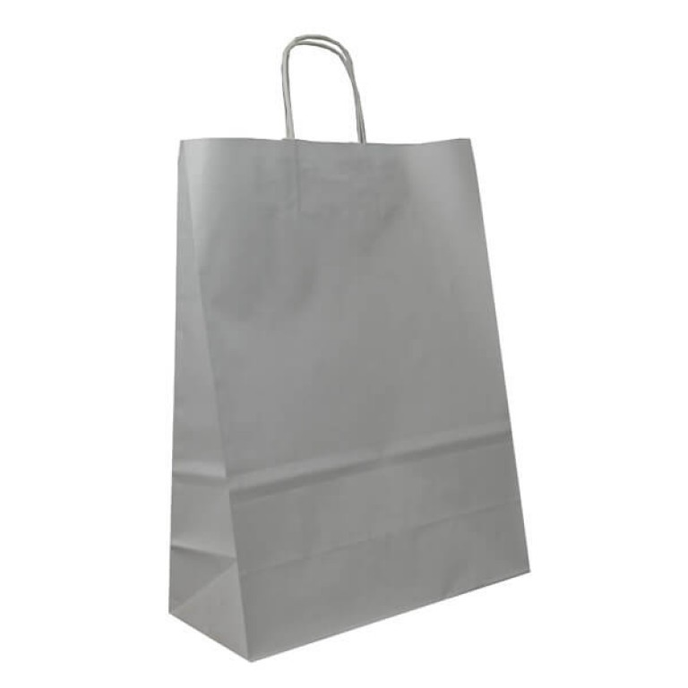 White Paper Carrier Bags For Clothes