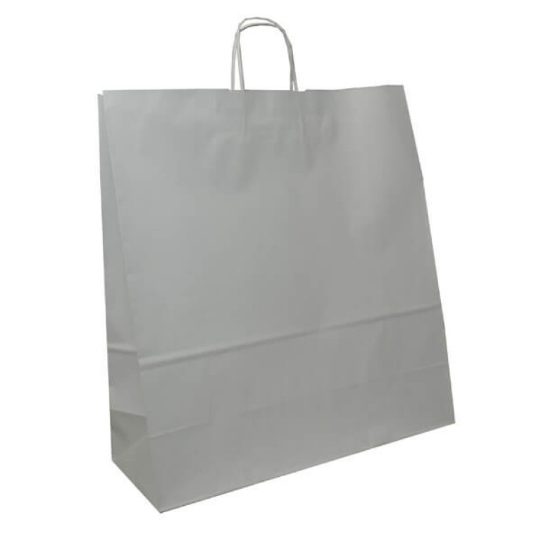 Extra-Large Fashion Carrier Bag (white)