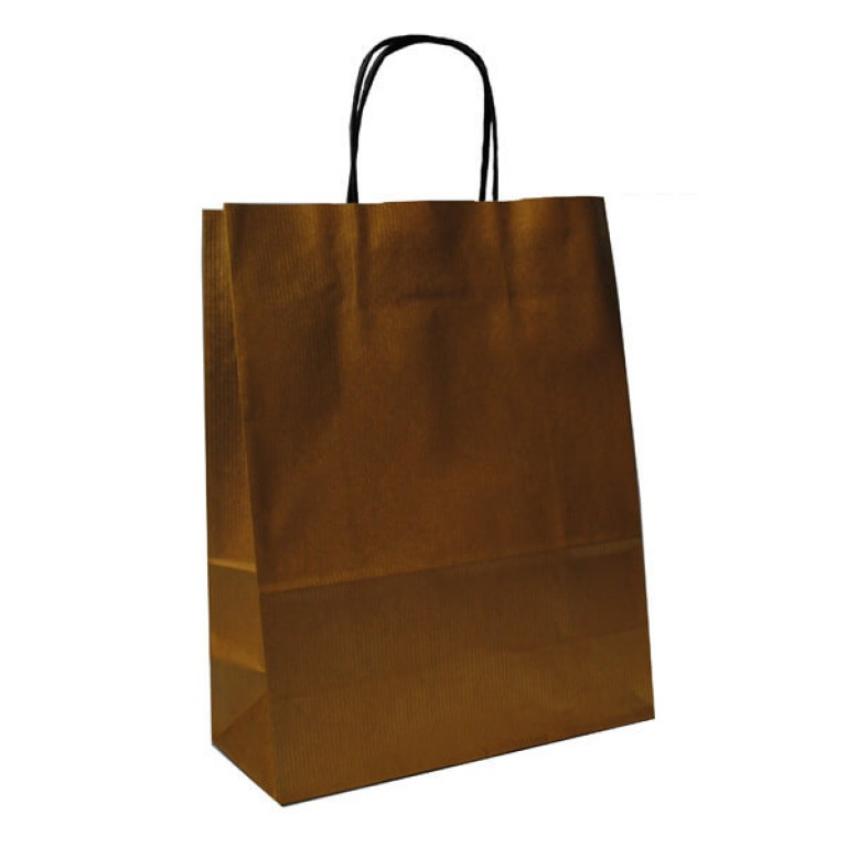 Small Carrier Bag (gold)