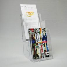 1/3 A4 (A6) Three-Tier Leaflet Dispenser