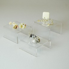 Small Acrylic Display Stands - Set of 3