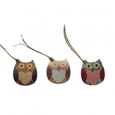 'Cute Owl' Gift Tags - Set of 15