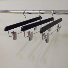 Black Wooden Clip Hangers