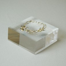 Clear Jewellery Display Block - Small