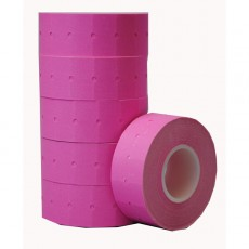 Peelable Labels for CT-1 Label Gun (pink)