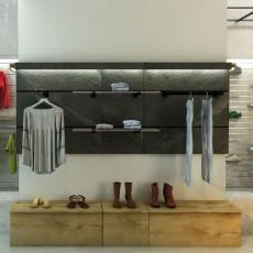 Panello Slatwall Panel (120 x 120cm)