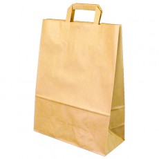 Large Fashion Carrier Bag (brown)