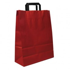 Large Fashion Carrier Bag (red)