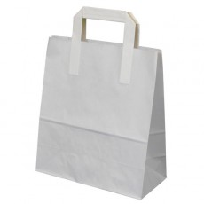 Large Carrier Bag (white)