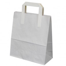 Medium Carrier Bag (white)