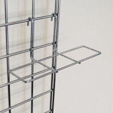 Gridwall Shoe Shelf