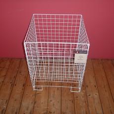White Dump Basket