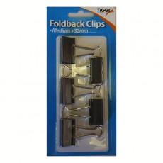 Foldback Clips 32mm - 5