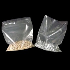 Clear Polythene Bags (500 gauge) - 250mm x 375mm