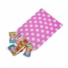 Polka Dot Paper Bags-Pink