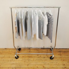 Collapsible Clothes Rail (chrome)