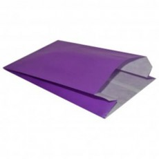 Satchel Paper Gift Bags - Purple
