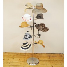 Floor Standing Hat Stand (chrome)