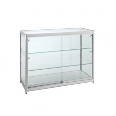 Triple Tier Glass Display Cabinet - XLarge