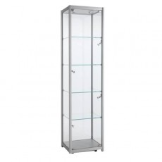 Four Tier Single Width Tower Show Case - Large