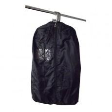 Black nylon sample bag - 1200mm - multiple garment capacity