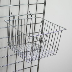 Square Grid Basket - Deep