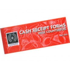 """Receipt Book With Counterfoils (3"""" x 8"""")"""