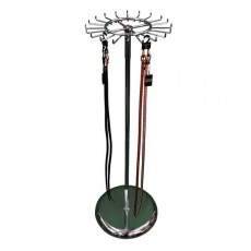 Revolving Chrome Accessory Stand